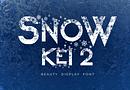 Snow Kei 2 Font (FREE), Upgrade Fitur yang Luar Biasa dari Font Snow Kei