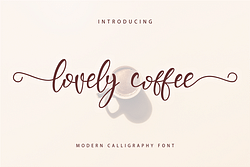 Lovely Coffee Font (FREE), Truly Extraordinary Handwriting Elegance